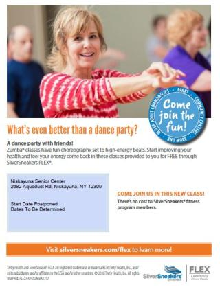 Fitness Class for Silver Sneakers Zumba
