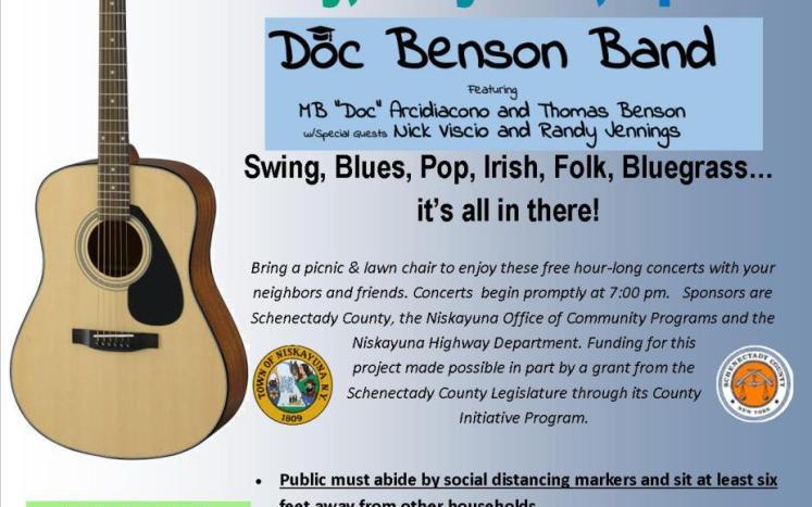doc benson band concert